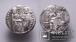 Венеціанська республіка, 48-й дож Джованні Дандоло (1280-1289рр.), срібний гроссо., фото №3