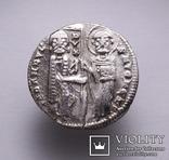 Венеціанська республіка, 48-й дож Джованні Дандоло (1280-1289рр.), срібний гроссо., фото №4