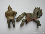 Фигурка всадника на коне МКИ (СССР) бонус животных, фото №7