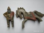 Фигурка всадника на коне МКИ (СССР) бонус животных, фото №8