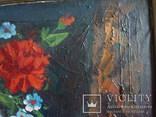 Натюрморт,холст,масло,50/40см.худ.Чернов,1983г., фото №5