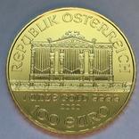 Австрия Филармония 2020 золото 1 OZ, фото №2