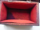 Старая  шкатулка на драгценности Австро Венгрия, фото №6