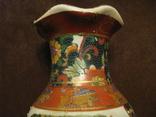Старая азиатская ваза - фарфор - высота - 25,5 см., фото №7