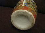 Старая азиатская ваза - фарфор - высота - 25,5 см., фото №11