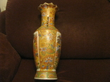 Старая азиатская ваза - фарфор - высота - 46 см., фото №7