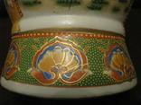 Старая азиатская ваза - фарфор - высота - 46 см., фото №8