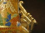Старая азиатская ваза - фарфор - высота - 46 см., фото №12
