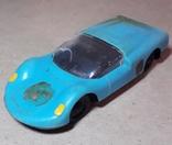 Гоночная Машинка СССР длина 11 см., фото №2