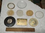 Циферблаты и стекла к разным настольным часам, фото №5