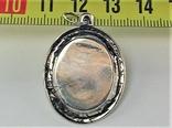 Подвеска медальон серебро 925 проба 4,31 грамма Николай чудотворец, фото №6