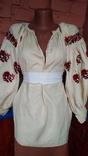 Старинная вышиванка (короткая), фото №3