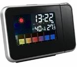 Настольные часы, метеостанция с проектором времени, фото №5