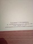 Худ. Грудинина , С Новым годом,  изд, Из.Иск.   1985г, фото №3