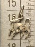 Кулон знак зодиака , Телец' серебро проба 925 ,звезда ', фото №5