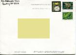 Прошедший почту конверт США фауна лягушки, фото №2