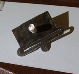 Копия пластины на колодку(серебро). Штамп., фото №5