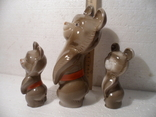 Олимпийские мишки. 3 шт., фото №5