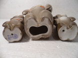 Олимпийские мишки. 3 шт., фото №8