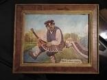 Картина змальована з листівки В. Гулак. копия, фото №2