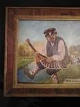 Картина змальована з листівки В. Гулак. копия, фото №4