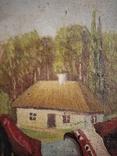 Картина змальована з листівки В. Гулак. копия, фото №9