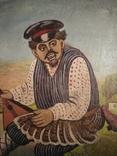 Картина змальована з листівки В. Гулак. копия, фото №13
