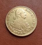 Золото. 2эскудо 1808 г. Испания, фото №2