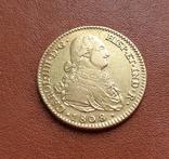 Золото. 2эскудо 1808 г. Испания, фото №4