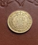 Золото. 2эскудо 1808 г. Испания, фото №6