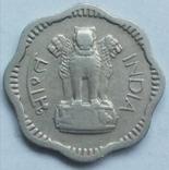 10 новых пайс 1957 г. Индия, Бомбей, фото №3