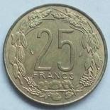 25 франков 1975 г. Центральная Африка, фото №2