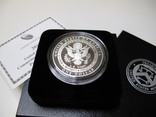 "1 доллар США (серебро): ""Армия США"" (2011 г.) Proof, фото №3"
