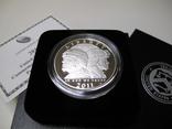 "1 доллар США (серебро): ""Армия США"" (2011 г.) Proof, фото №4"