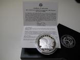 "1 доллар США (серебро): ""Армия США"" (2011 г.) Proof, фото №5"