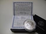 "1 доллар США (серебро): ""Абрахам Линкольн"" (2009 г.) UNC, фото №5"