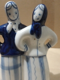 Две подружки.Гжель, фото №10