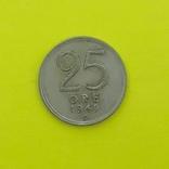 Швеція 25 ере, 1943р. Сріло., фото №2