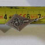 Серебряный кулон с позолотой СССР, фото №5