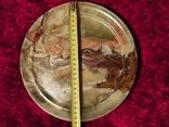Блюдо тарелка из оникса 25 см., фото №5