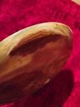 Блюдо тарелка из оникса 25 см., фото №7