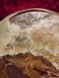 Блюдо тарелка из оникса 25 см., фото №10