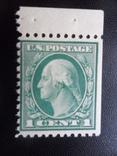 США. Дж. Вашингтон.  чистая, фото №3