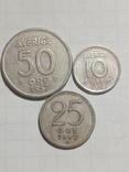 Монети Швеції срібло, фото №2
