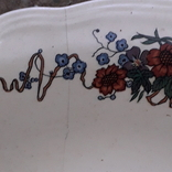 Тарілки і вазочка, фото №4