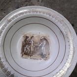 Тарілки і вазочка, фото №7