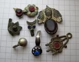 Фрагменты старинных украшений, фото №2