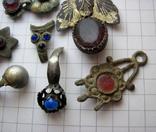 Фрагменты старинных украшений, фото №5