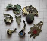 Фрагменты старинных украшений, фото №7