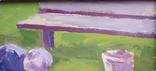 """В.Кнышевский""""Юные ракетчики,""""33*53см, орг.м., 1982г, фото №4"""